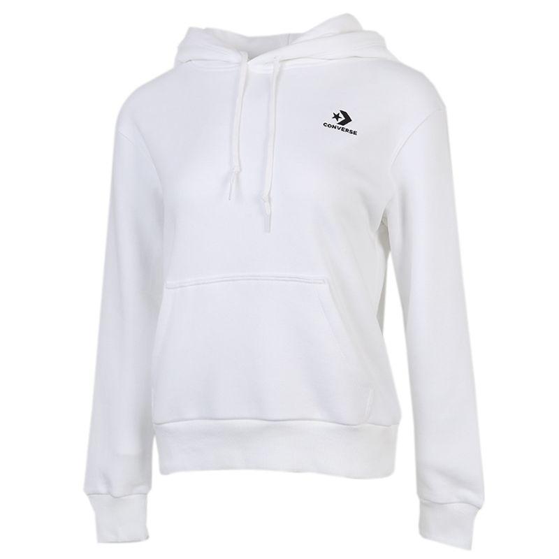 匡威CONVERSE 女子 2020冬季新款运动跑步训练健身透气舒适休闲卫衣套头衫  10020872-A08