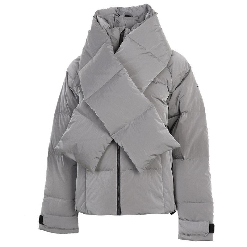 阿迪达斯ADIDAS 女装 2020秋冬新款运动服保暖休闲防风外套 FT2534