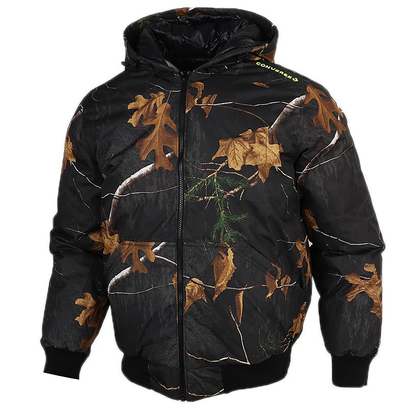 匡威CONVERSE 男子 2020冬季新款防风运动服休闲夹克羽绒服 10020223-A01