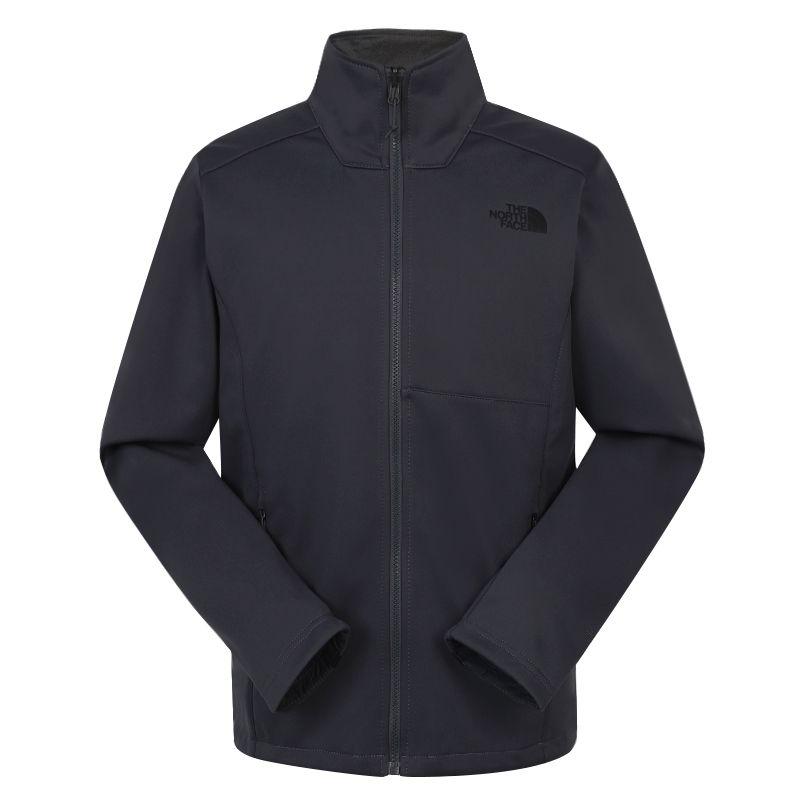 北面TheNorthFace  男装 2020秋冬新款户外休闲长袖上衣运动服软壳夹克 4U84174