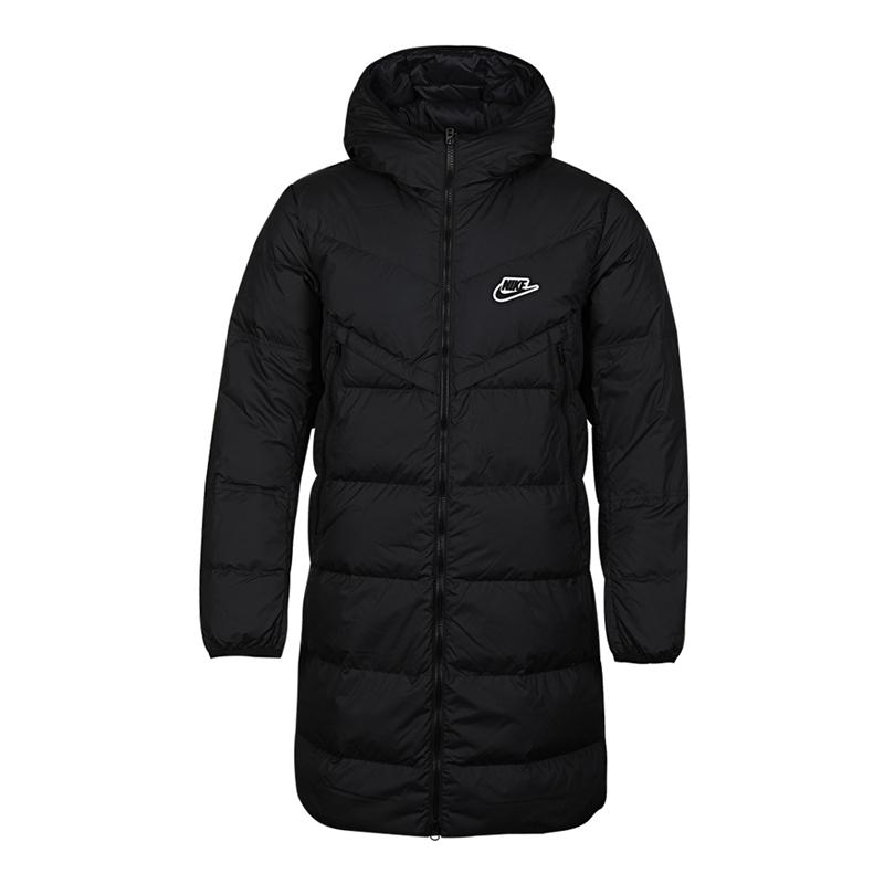 耐克NIKE  男装 2020冬季新款保暖耐磨防风中长款羽绒服 CU4409-010