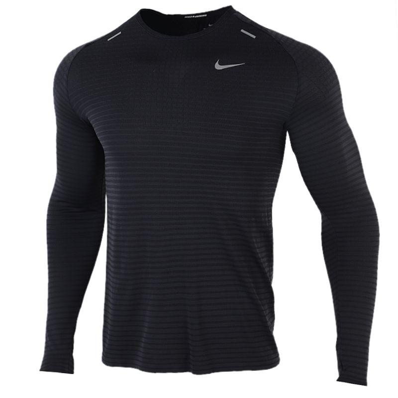 耐克NIKE TECHKNIT ULTRA LS 男装 健身运动跑步休闲长袖T恤 CJ5347-010