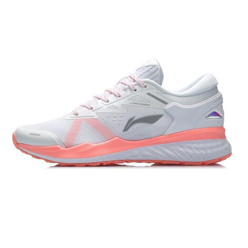 李宁 女鞋 运动鞋时尚潮流休闲舒适透气耐磨减震跑步休闲鞋 ARHQ132-1
