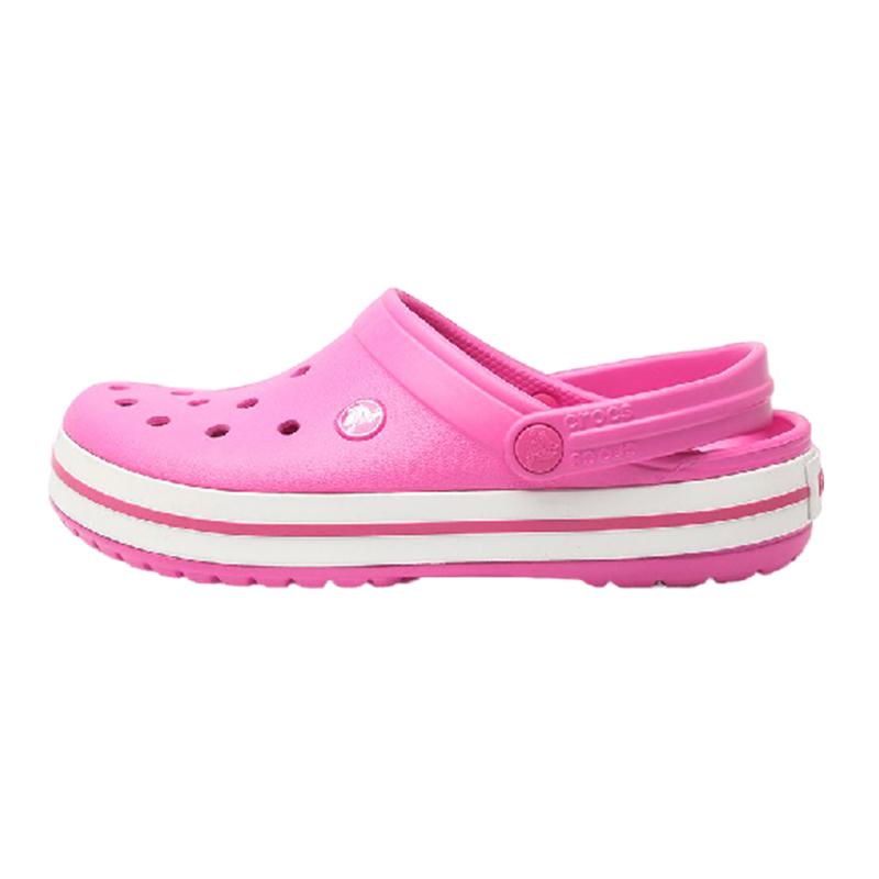 卡骆驰Crocs 男女 卡骆班平跟沙滩鞋防滑凉鞋拖鞋洞洞鞋 11016-6QR