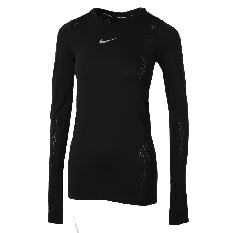 耐克NIKE 女装 运动服健身训练跑步休闲长袖T恤 CU3123-010