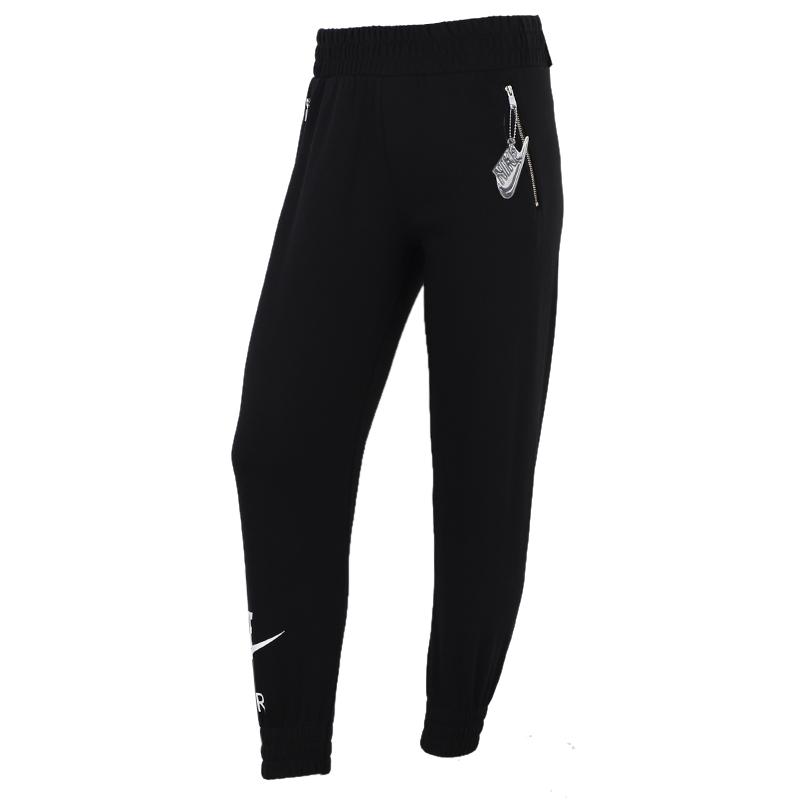 耐克NIKE  女装 2020冬季新款运动休闲针织长裤 CU5511-010