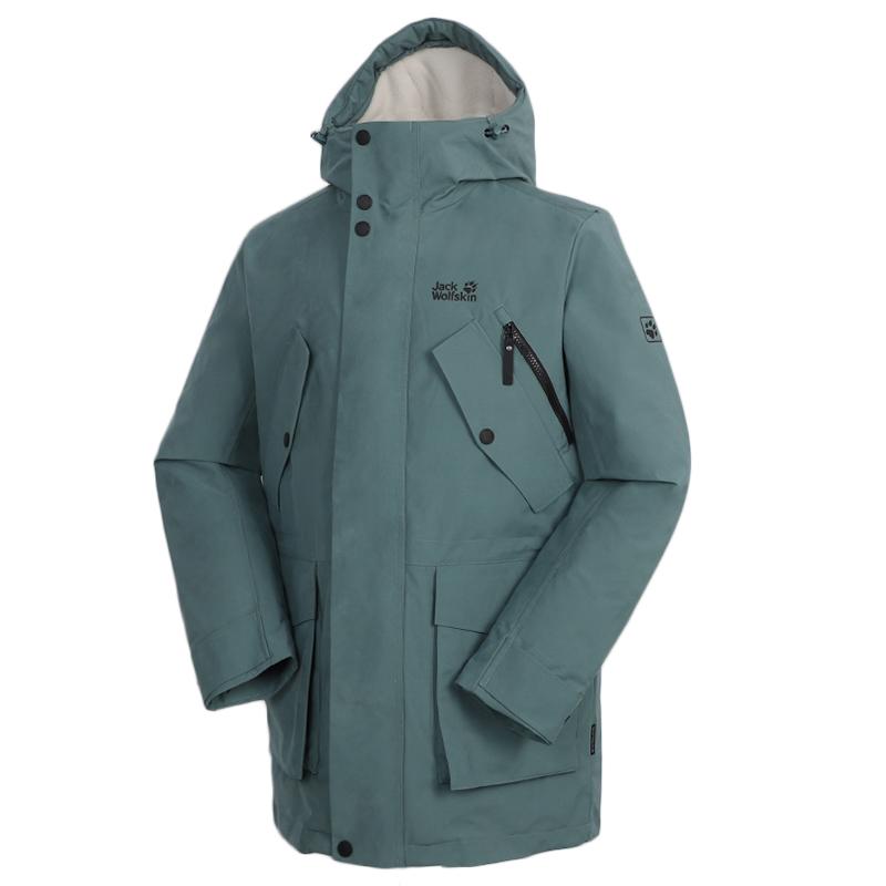 狼爪Jack wolfskin 男装 户外运动服上衣保暖防风衣外套羽绒服 5220191-1159