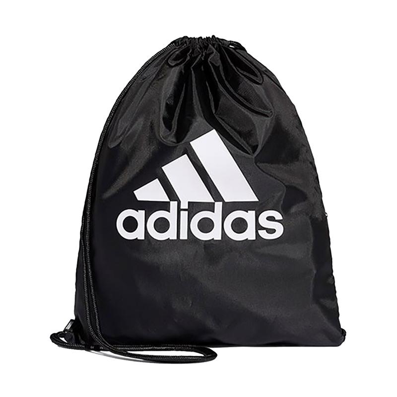 阿迪达斯ADIDAS 男女 束口袋抽绳双肩包户外收纳包 DT2596