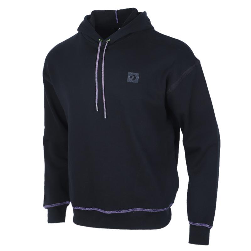 匡威CONVERSE 男子 跑步训练套头衫休闲运动卫衣 10020388-A01