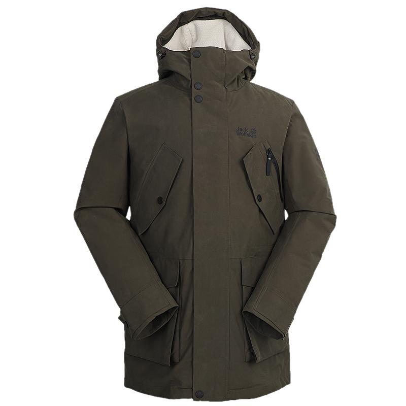狼爪Jack wolfskin  男装 户外运动服保暖防风衣外套羽绒服 5220191-5087