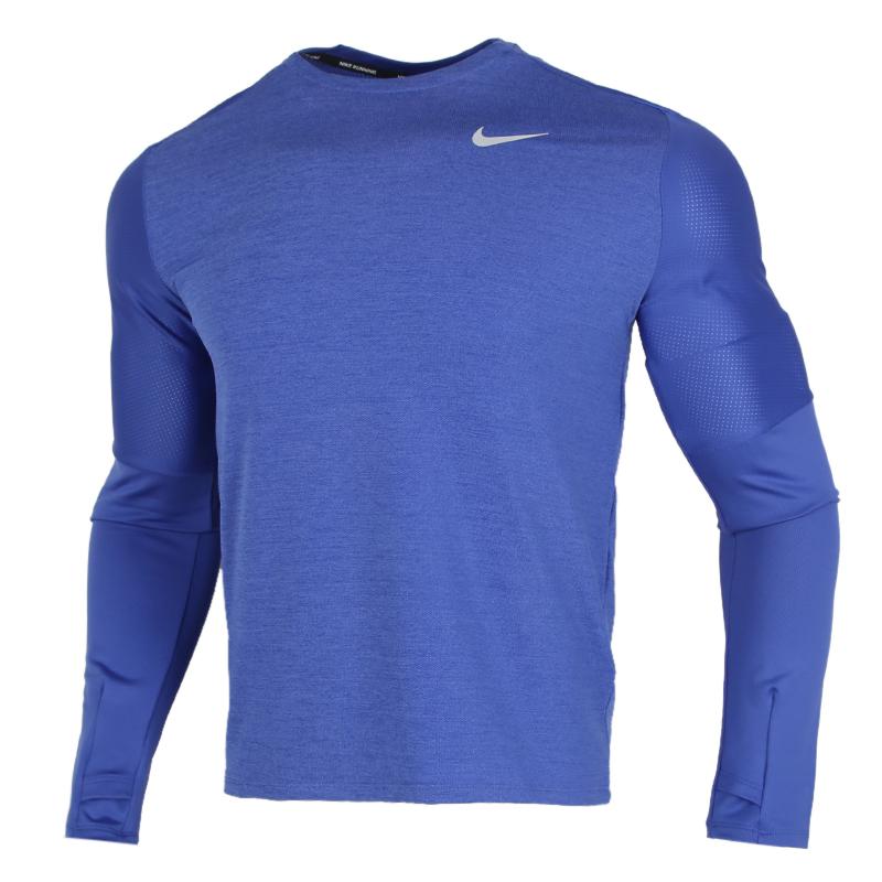 耐克NIKE DF ELMNT CREW 男装 运动休闲训练跑步套头衫卫衣 CU6072-430