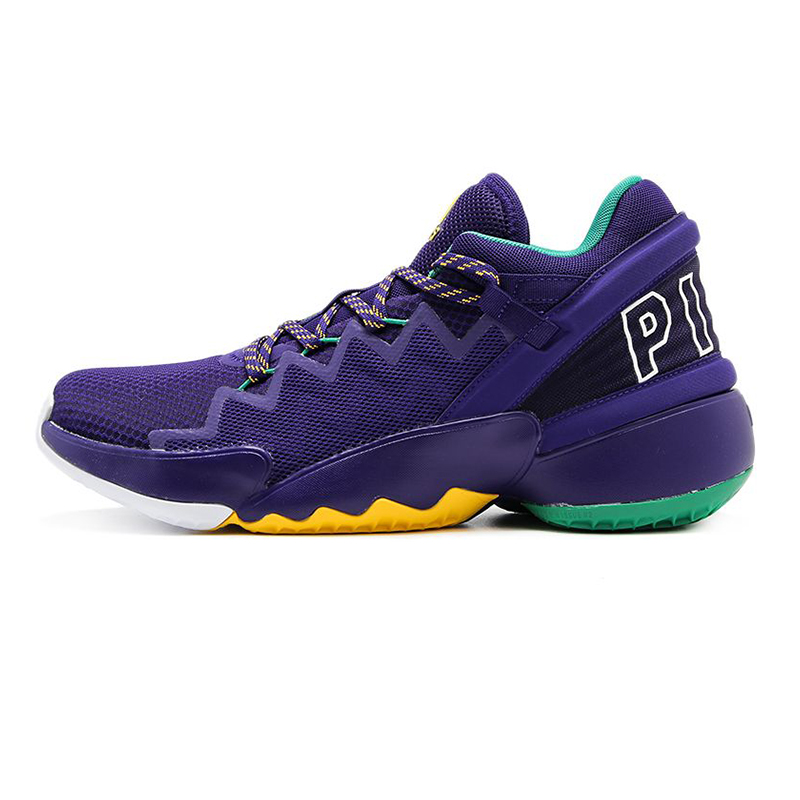阿迪达斯ADIDAS  男鞋 2020冬季新款实战篮球鞋缓震耐磨运动鞋 FW9037