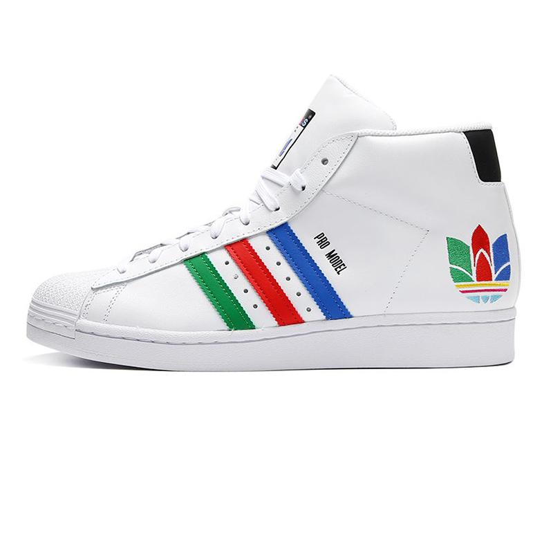 阿迪达斯三叶草ADIDAS PRO MODEL 男女 运动鞋复古板鞋休闲鞋 FX0183