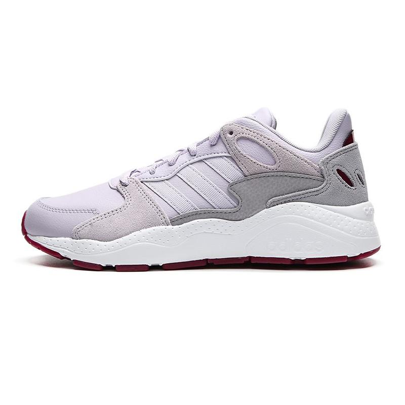 阿迪达斯生活Adidas NEO CRAZYCHAOS 女鞋 休闲缓震运动跑步鞋 G55063