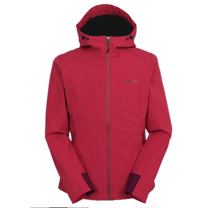 探路者TOREAD 女装 2020冬季新款运动跑步训练健身防风休闲透气外套针织夹克 TAEI92198-A49X