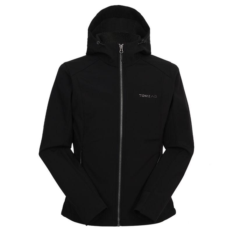 探路者TOREAD 女装 2020冬季新款运动休闲针织夹克 TAEI92198-G01X