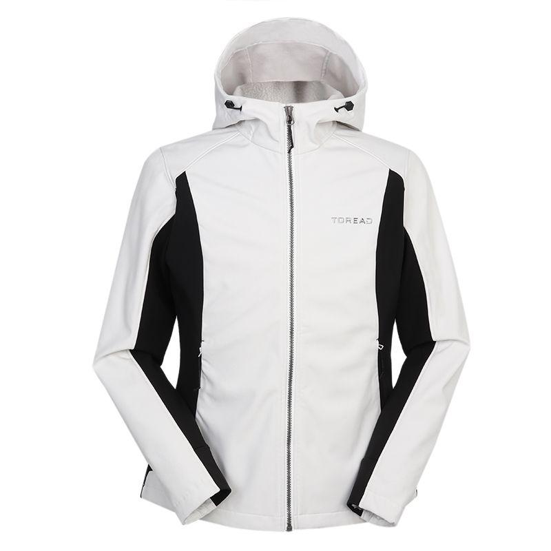 探路者TOREAD 女装 2020冬季新款运动服跑步训练健身防风休闲透气外套针织夹克 TAEI92198-G65X