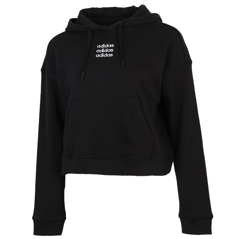 阿迪达斯生活Adidas NEO  C+ SWH 女装 套头衫运动舒适保暖休闲长袖 GJ7935