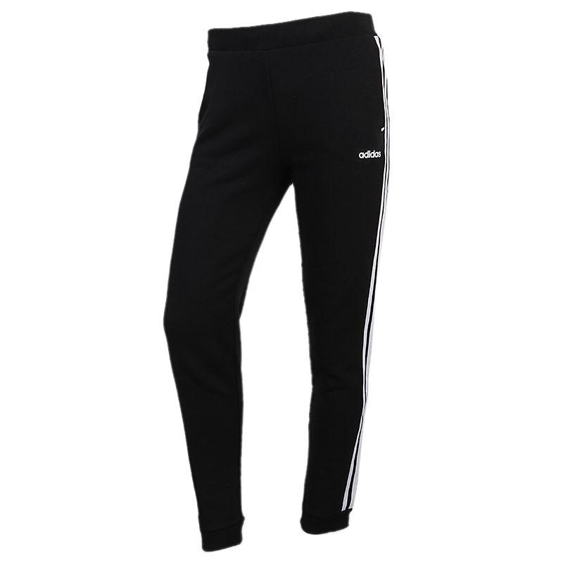 阿迪达斯生活Adidas NEO W ESNTL 3S TP 女装 运动休闲针织长裤 GJ7947