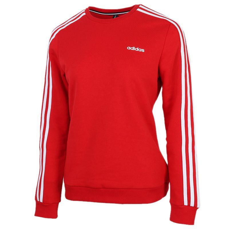 阿迪达斯生活Adidas NEO  ESNTL 3S SWEA 女装 套头衫舒适休闲圆领长袖卫衣 GJ8744