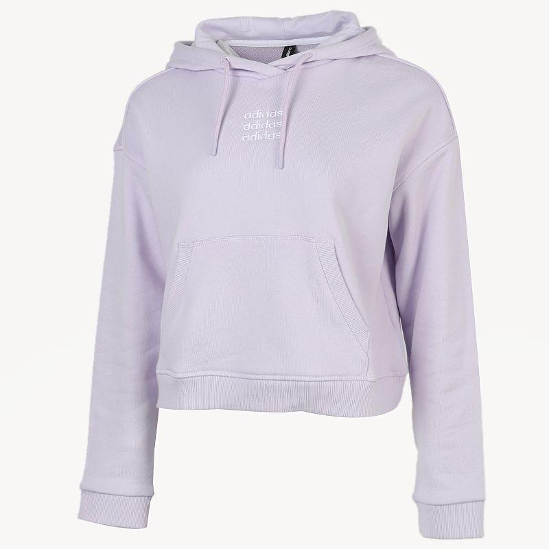 阿迪达斯生活Adidas NEO 女装 2020冬季新款套头衫运动舒适保暖休闲长袖 GL7432
