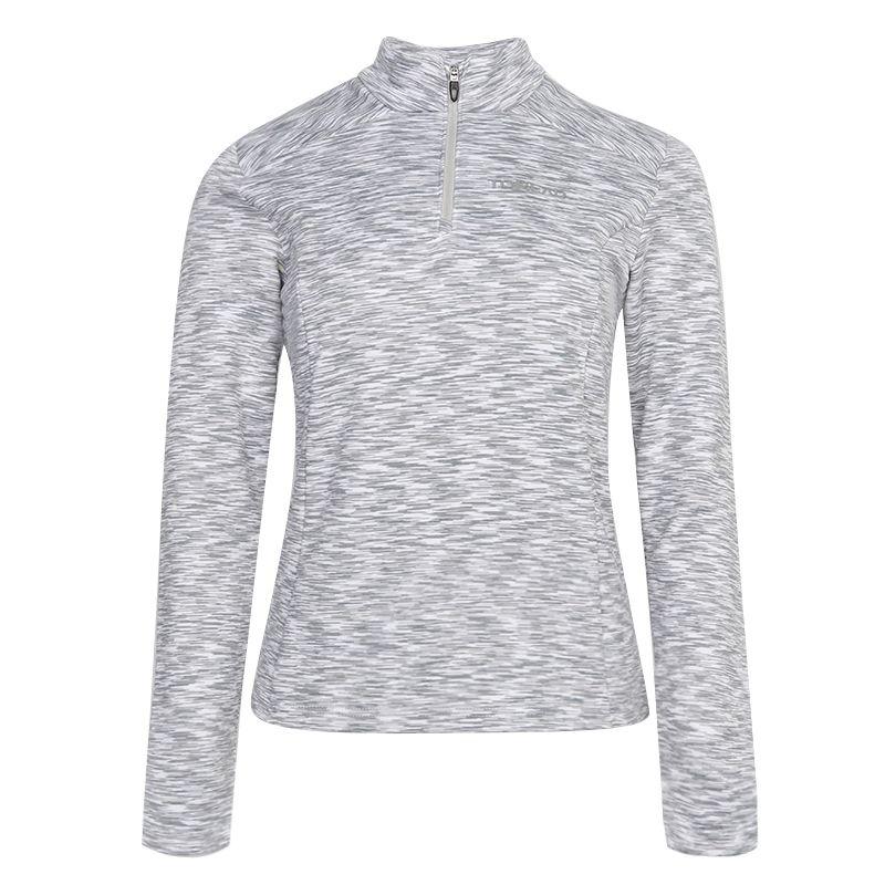 探路者TOREAD 女装 运动服跑步训练健身快干透气舒适休闲长袖T恤 TAJI92134-F86X