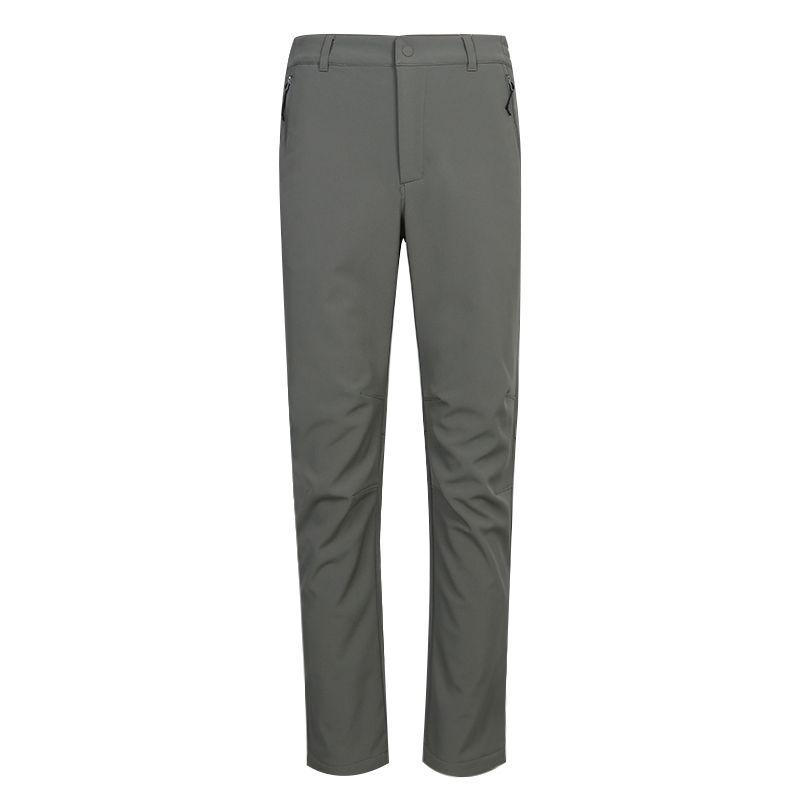 探路者TOREAD 男装 运动裤户外出行舒适透气休闲保暖软壳针织长裤 TAMI91141-DB3X