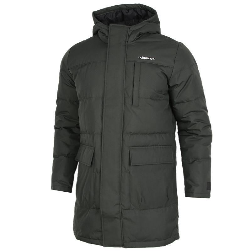 阿迪达斯生活Adidas NEO  男装 2020冬季新款运动防风羽绒服 GJ8779