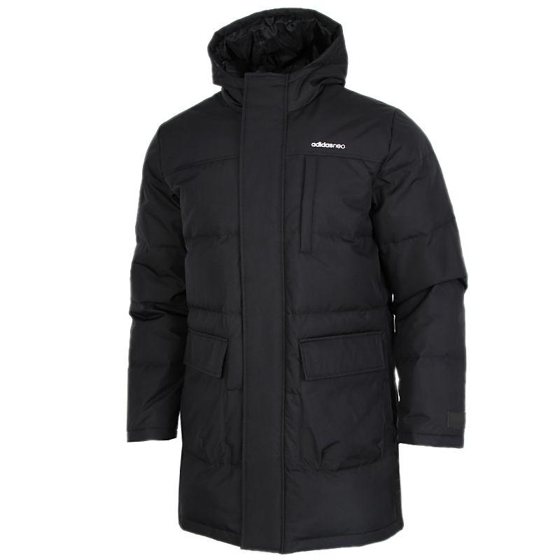 阿迪达斯生活Adidas NEO  男装 2020冬季新款宽松运动服保暖羽绒服 GJ8786