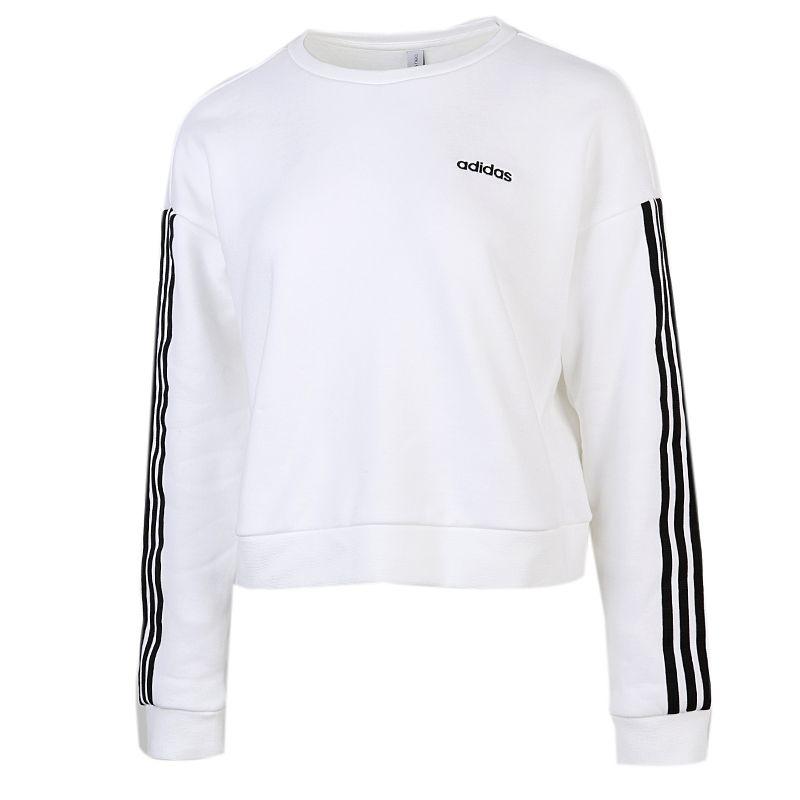 阿迪达斯生活Adidas NEO 女装 2020冬季新款运动服套头衫休闲卫衣 GU8157