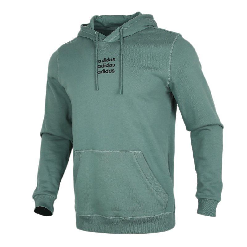 阿迪达斯生活Adidas NEO C+ HDY 男装 套头衫舒适运动休闲连帽长袖 GJ8935