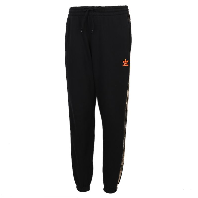 阿迪达斯三叶草ADIDAS CAMO SWEATPANT 男装 训练跑步保暖运动休闲长裤 GD5948