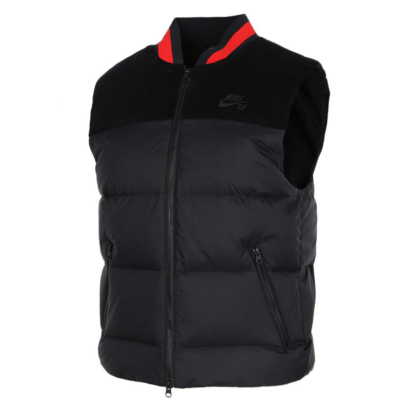 耐克NIKE SB SEASONAL VEST 男装 户外运动服保暖防风舒适休闲马甲外套羽绒服 CK5470-010
