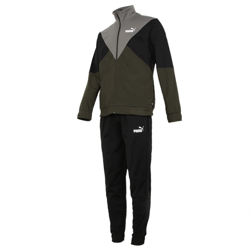 彪马PUMA 男装 春季款跑步训练防风外套休闲裤套装 585318-70