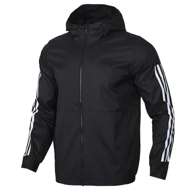 阿迪达斯adidas AI WB CLASSIC 男装 运动服跑步训练透气舒适防风休闲梭织夹克外套 FM9428