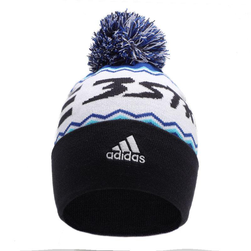 阿迪达斯ADIDAS 3S WOOLIE POMPO 男女 休闲帽保暖针织帽绒线帽 FS9015