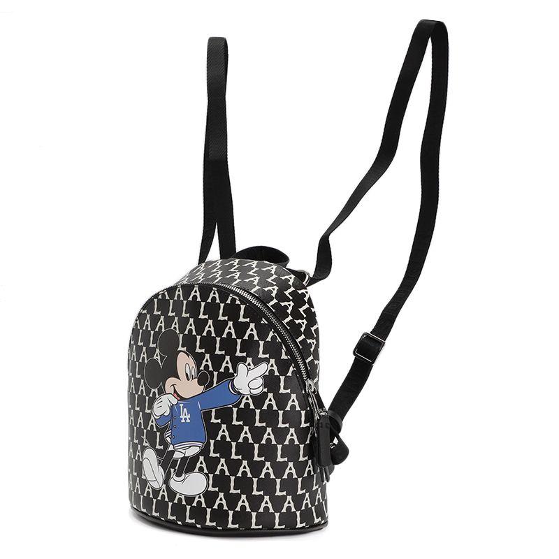 MLB 男女 迪士尼米奇联名老花系列运动包休闲背包 32BGK1-07L