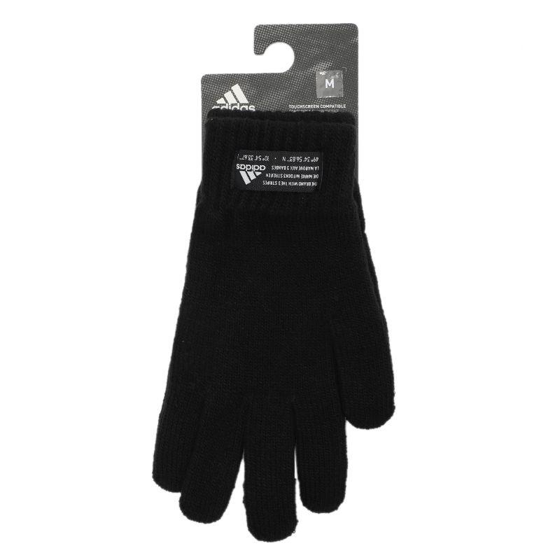 阿迪达斯ADIDAS 男女 训练运动户外配件保暖舒适手套 FS9031
