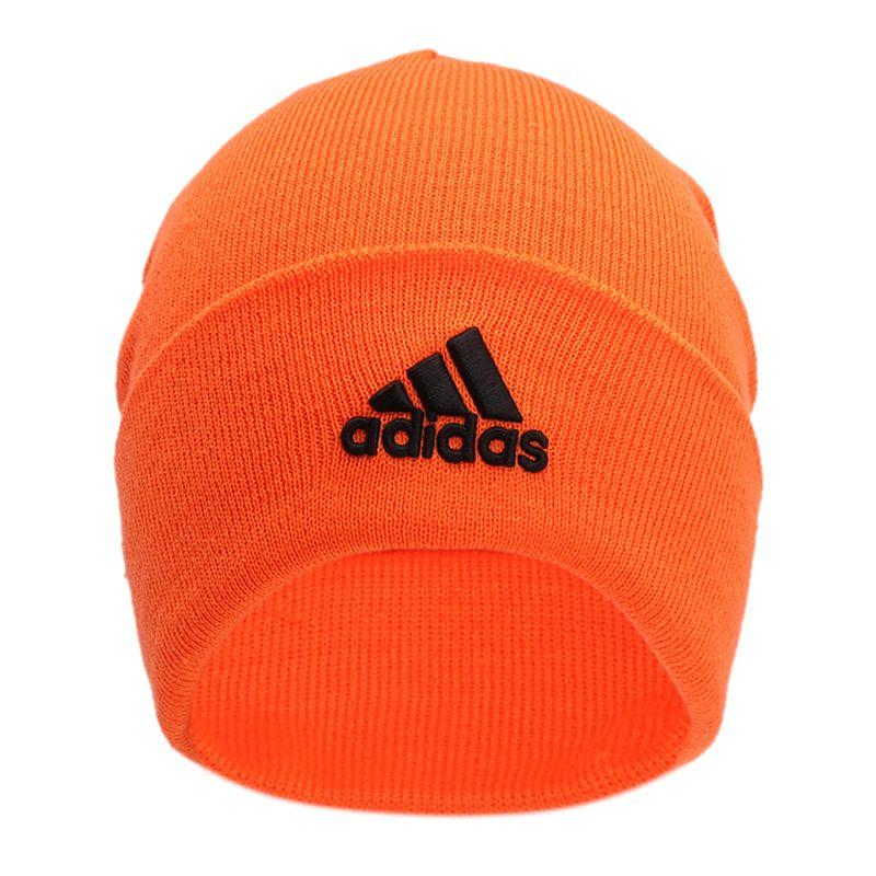 阿迪达斯ADIDAS LOGO WOOLIE 男女 保暖绒线帽针织透气帽 GE0595