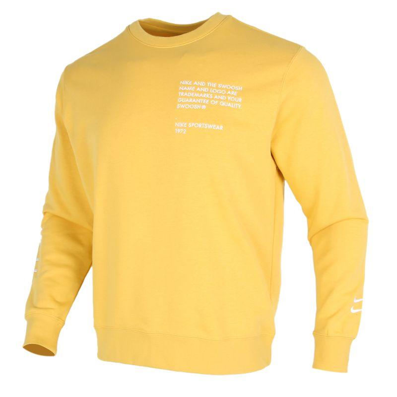 耐克NIKE AS  SWOOSH CREW FT 男装 运动休闲卫衣套头衫 CU4035-761