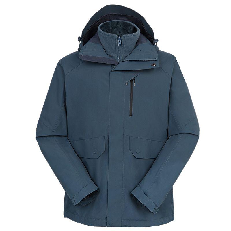探路者TOREAD 男装 2020秋冬新款户外运动冲锋衣 TAWI91105-C27X