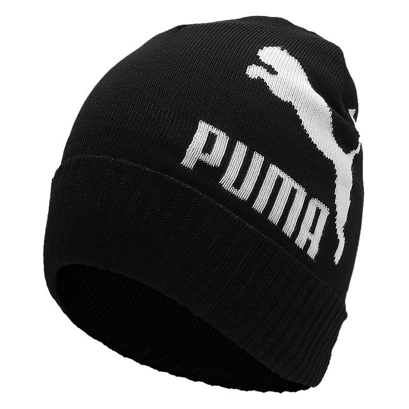 彪马PUMA  男女 帽子 运动帽情侣帽时尚保暖针织绒线帽套头帽子 022849-01