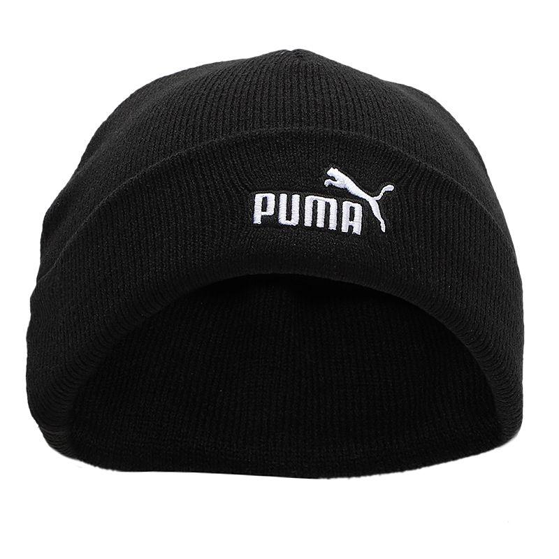 彪马PUMA  男女 运动帽情侣帽子时尚保暖针织绒线帽 022972-01