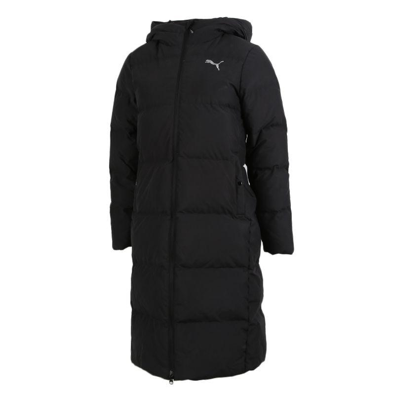 彪马PUMA 女装 2020冬季新款运动服保暖长款过膝韩版羽绒服 585107-01