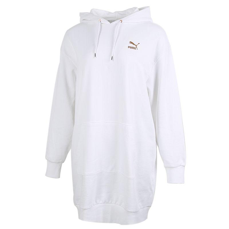 彪马PUMA 女装 潮流外套正品保暖长款卫衣针织套头衫 599165-52