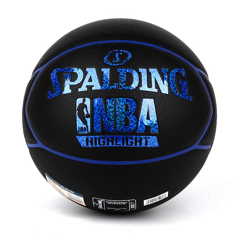 Spalding斯伯丁Highlight闪光星形表皮PU篮球76-019Y