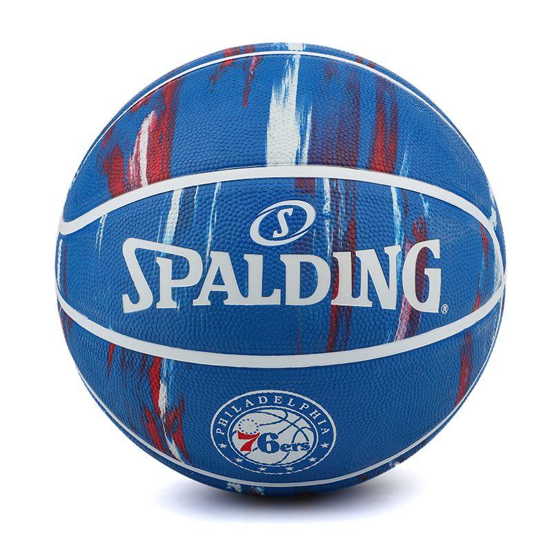 斯伯丁  76人队队徽7号球耐磨橡胶学生成人篮球 84-149Y