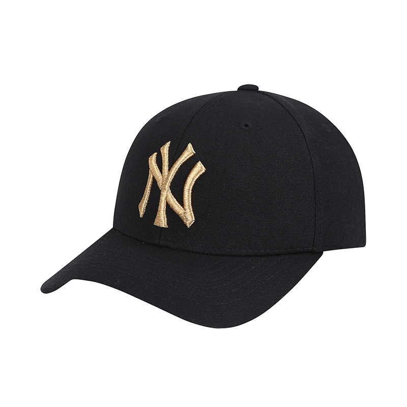 MLB 男女 NYLA刺绣棒球帽运动休闲百搭帽子时尚潮流鸭舌帽 32CPIG-50L