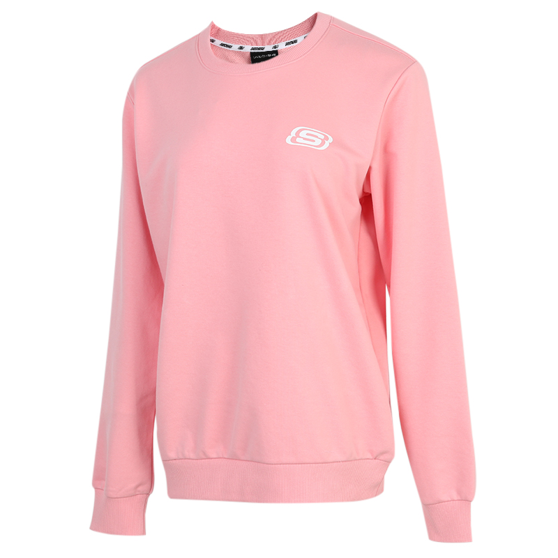 斯凯奇SKECHERS  男女 2020冬季新款运动套头衫休闲舒适卫衣 L320U106-00K7