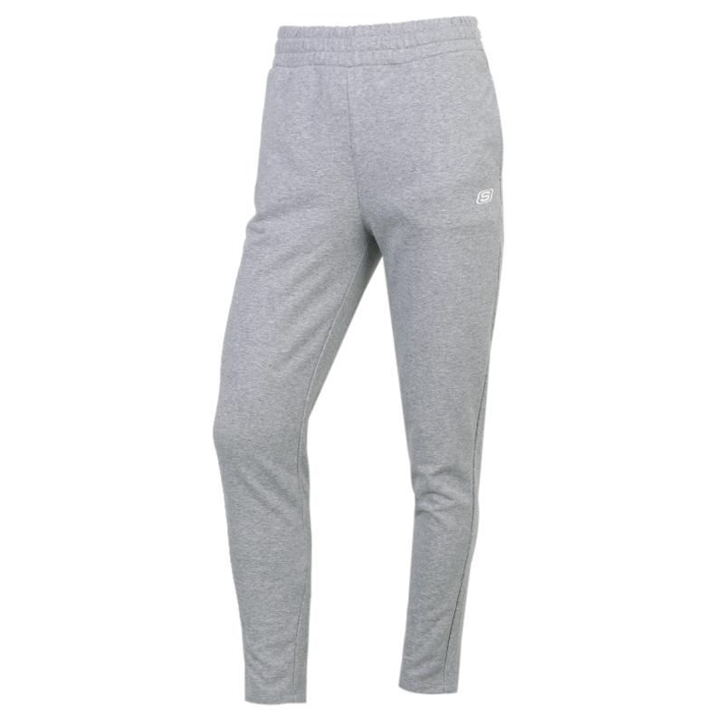 斯凯奇SKECHERS 女装 收口运动裤保暖小脚裤长裤卫裤 L320W181-00C4